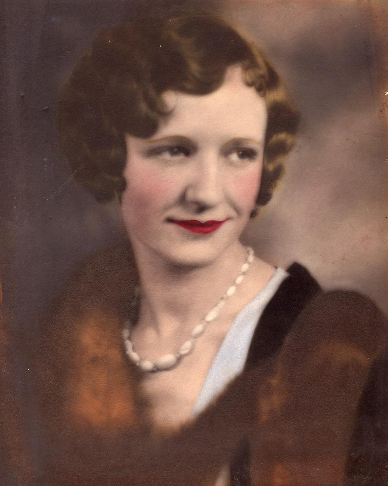 Virginia Carlisle, ca early 1930s