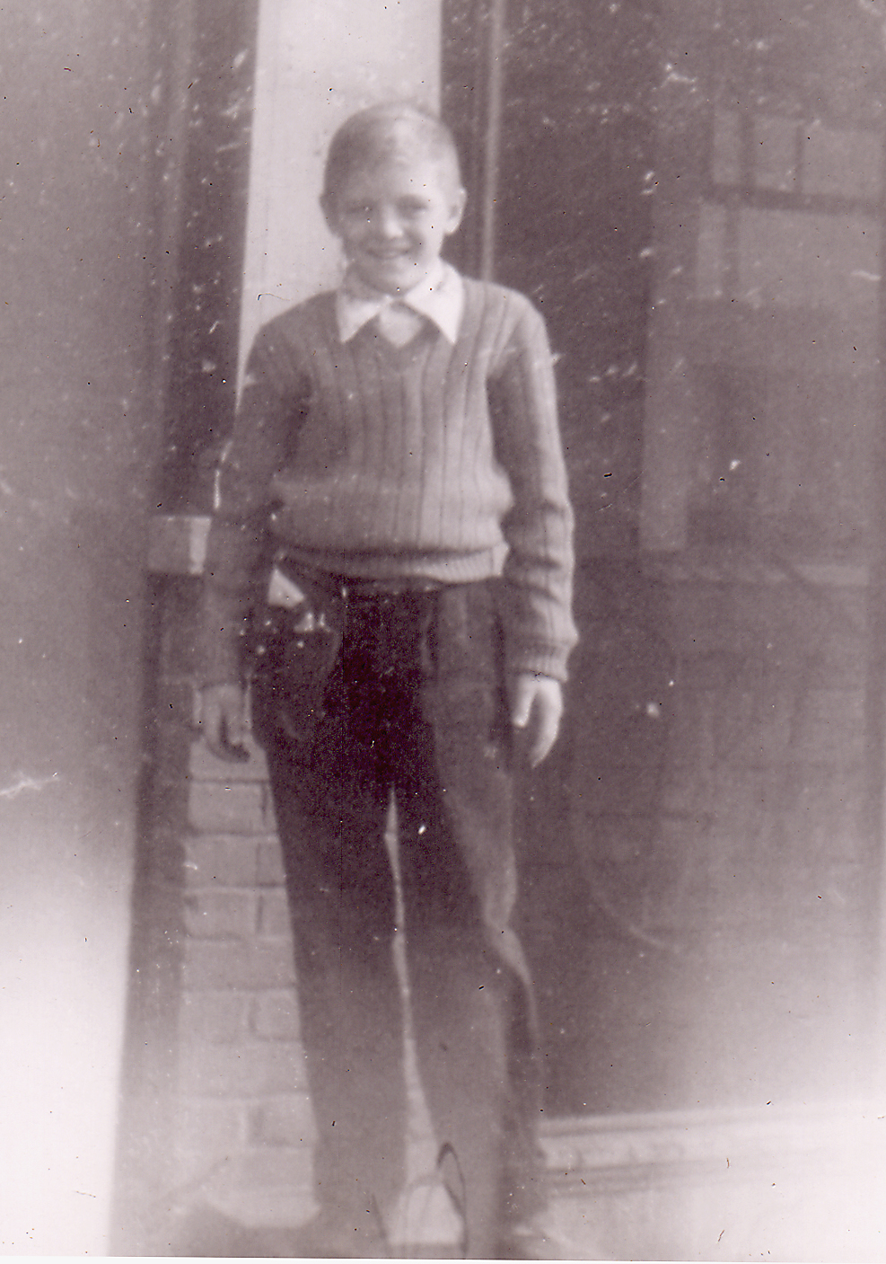 """Thomas Arthur White """"Tommy"""". Son of Adelaide Carlisle and Vernon """"Kikie"""" White."""