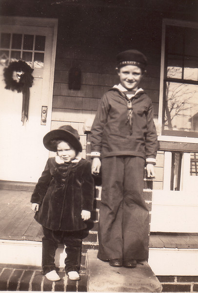 Marion Penny and Tommy White -- notice Marion's little bow leg
