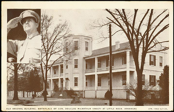 Here is the original building located in Little Rock, AR.