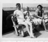 Uncle Tim, Betty Ann, Mom Pertin and his sister, my mother, Helen (1940?)