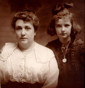 Maude and Mary about 1915