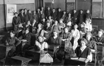 J. Wayne Eldredge, Classroom Picture