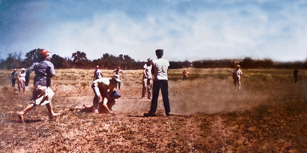 Old Family Baseball Game