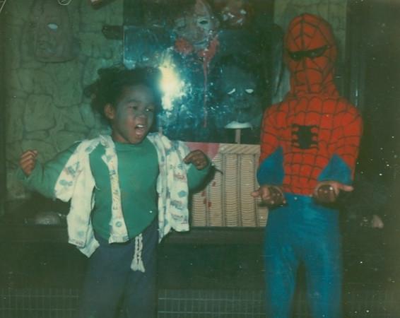 Halloween Hulk and Spiderman