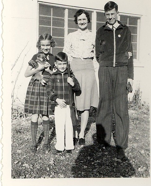 Darlene, Jack, Jewel and Donald Hill in Albuquerque, NM.