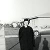 Elaine Butterfield Hill college graduation 1958.