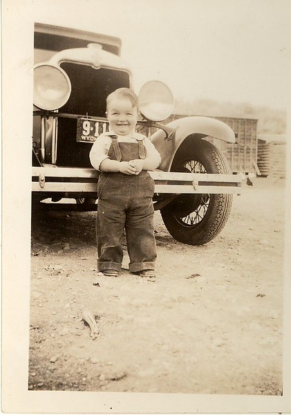 Glenn Hill at 9 months.