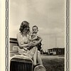 Aunt Vera Saban holding Glenn Hill.