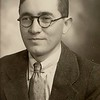 """Wallace Laverne Hill (possibly?). He died at age 24. Tie clip has a """"W"""", so I think this is probably him. Family history describes him as having to wear glasses."""