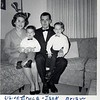 Taken Thanksgiving Day 1963. Elaine and Jack. Bruce age 1, Brian age 3.