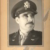 Army Air Corp photo of Ted Hill, possibly 1942.