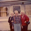 Fannie and Ted Hill with his sister Lois Johnson.