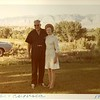 Ted and his third wife Augusta in Wyoming, 1970.
