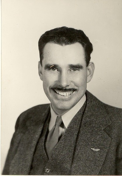 Ted Hill, possibly post WW2?