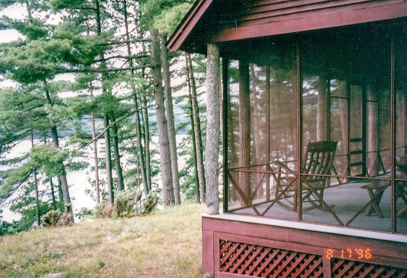 Bass Rock house on Eagle Lake in the Adirondacks