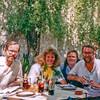 Rodgers and Shavers at Restaurante sin nombre in Tlaquepaque Guadalajara Mex