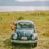 Doug Shaver with dos cervezas in a bug on Lake Chapala Ajijic Mex 1990