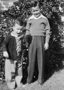 Ernie Krumm and Robert Krumm, perhaps late 1930's.