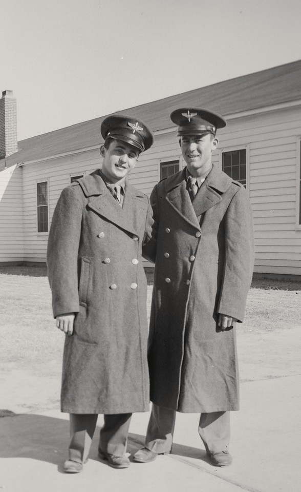 Dad and another cadet-7395