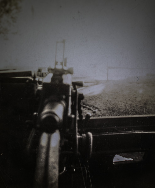 Unknown  Gun on half-track--7383