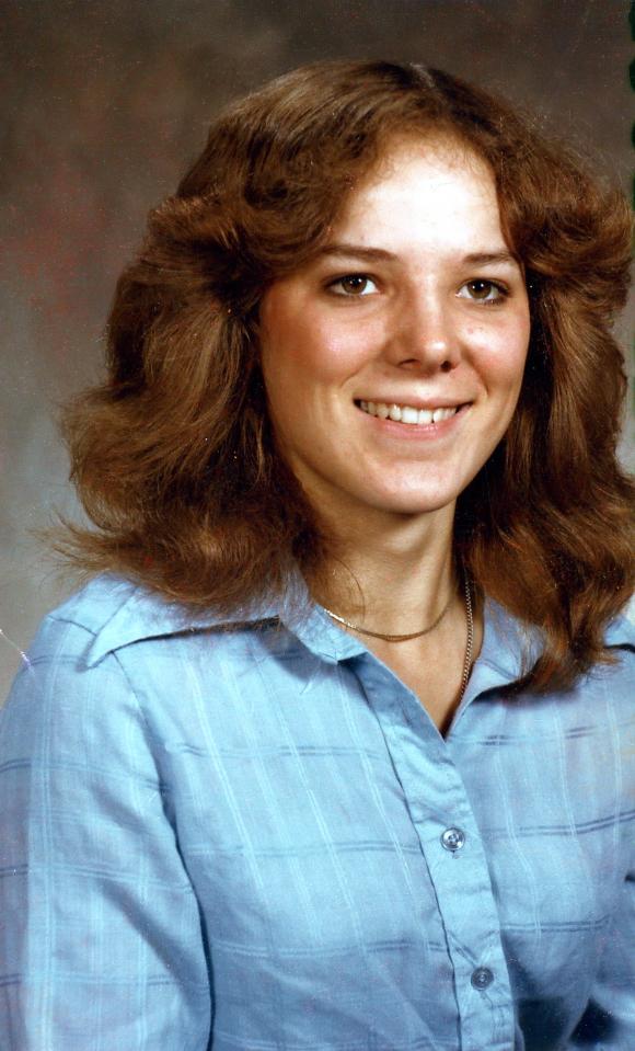 1980 , Kathy Blackman  18 yrs old, Senior picture