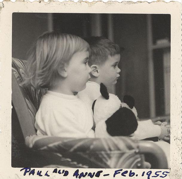 Paul and Anne - Feb 1955