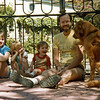 Hannah, Grace, Jonathan, Jon Rodgers with Chancy in Ajijic--1980's