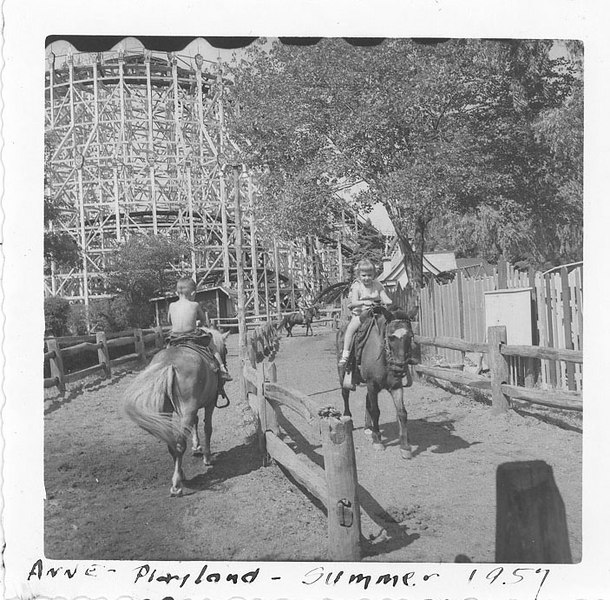 Anne Playland - Summer 1957