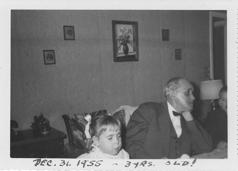Anne - Dec 31, 1955 - 3yrs old!