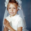 Kathy Smith<br /> First Communion<br /> St. Eugene's School, Los Angeles, CA<br /> May 1959