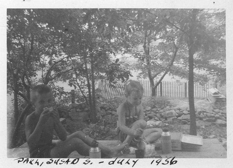 Paul & Susan July 1956