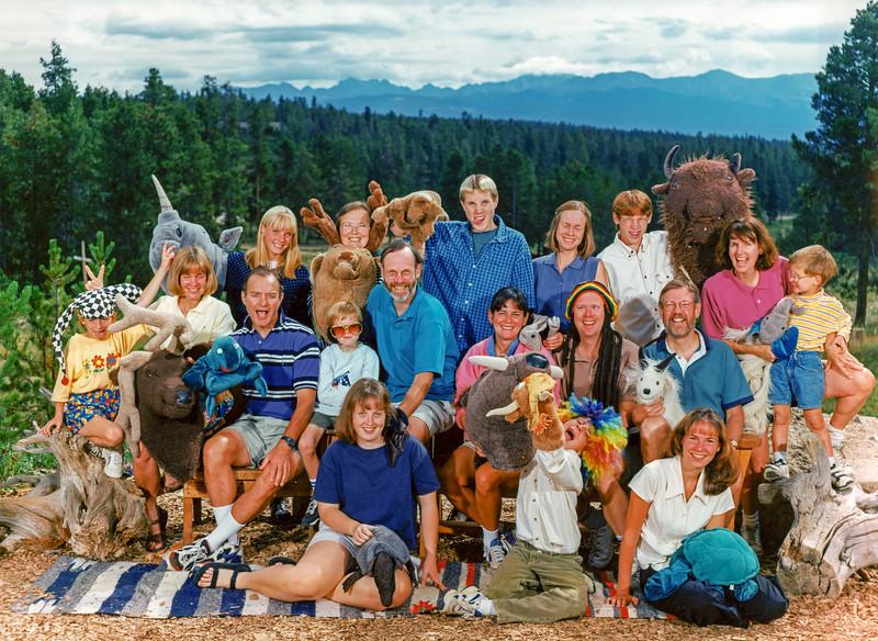 Family Group Portrait  Granby CO