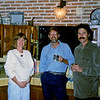 Valerie, Deb, Fred, Paul  in the kitchen at the Rodgers house in Ajijic.