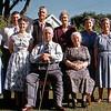 Standing - Elsie, Lyal, Nancy, Oscar (Russell's Grandfather), Vera, Bel, Joan, Nelson. Sitting-John Henry (Russell's Great Grandfather) & Ann (Great Grandmother)