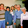 Prent Rodgers, Susie Rodgers, Kayti, Katherine Weed, Jon Rodgers, Fred Weed, Ruth Weed in San Jose in March 1991.