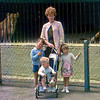Pat with Russell, Kerry and Warwick at Auckland Zoo.