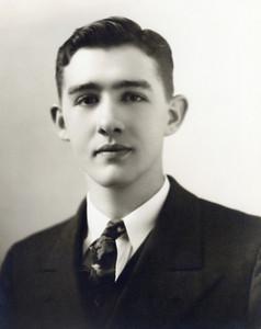 My grandfather, James Matthews, age 19