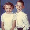 Kathy and Joey Smith<br /> First Communion<br /> St. Eugene's School, Los Angeles, CA<br /> May 1959