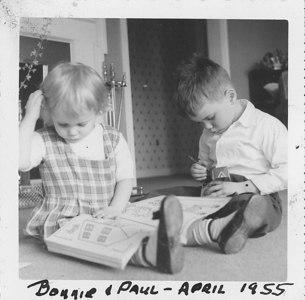 Bonnie & Paul - April 1955