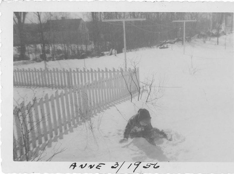 Anne - March 1956