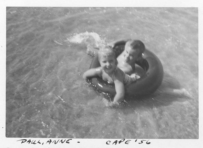 Paul & Anne Cape Cod 1956