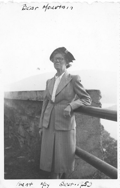 Bear Mountain Aunt May Sept 1953