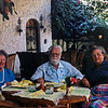 Jane Rodgers (my mother), John Rodgers, Ann Conklin in the Restaurante sin nombre - Tlaquepaque, Jal. (Jan 1988). Photo taken I assume by George Coklin.
