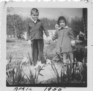Paul and Anne - Easter 1955