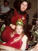 Christmas 1981 - Ken & Cati's house<br /> Stacy, Cati, & grandpa Howard