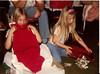 """Christmas 1981 - Grandma's house<br /> """"Pretty - Hey!""""<br /> Stacy & Jeannie"""