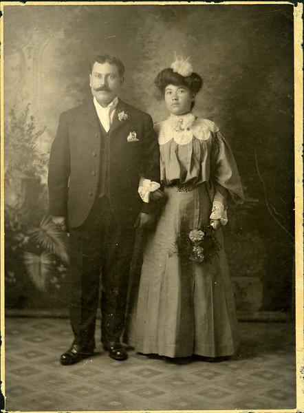 Samuel Paladino and Nina (Anna) Virga Paladino