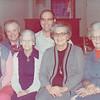 Aunt Milie, Uncle Frank, Grandma Pou, Uncle Fred, Aunt Polly, Aunt Mary Lou