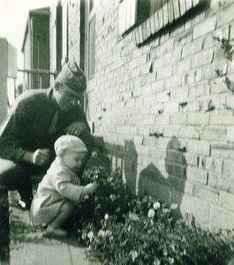 1945 - Rob & Dad